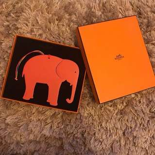 🈹LIMITED TIME OFFER 🈹🐘 RARE 🐘 Hermes Petit H Elephant Charm 🐘