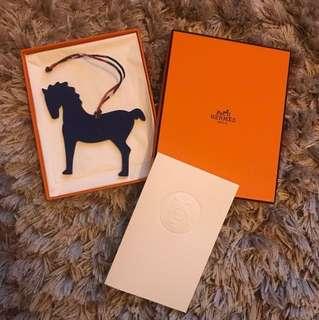 🈹SALE🈹🐎 RARE 🐎 Hermes Petit H horse charm 🐎