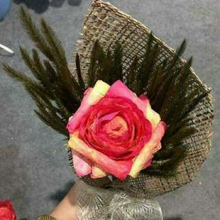 Fossilized Flower in Bouquet