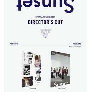 [PREORDER] 세븐틴 (SEVENTEEN) - DIRECTOR'S CUT / 스페셜 앨범