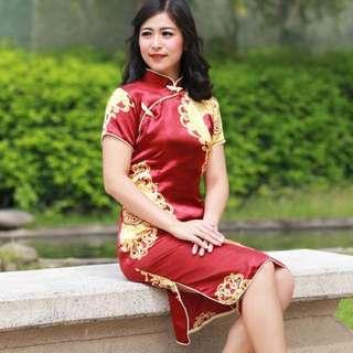 Crown Cheongsam Dress