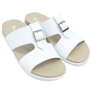 Dr. Kevin men sandals 17222 white