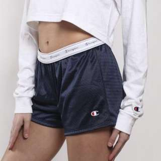 Authentic champion shorts