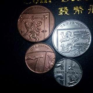 Paket D uang mahar coin asing