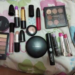 Genuine branded make up