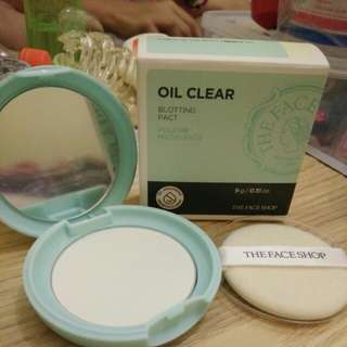 Oil clear zero sebum