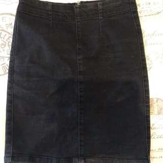 Supre black high waisted skirt