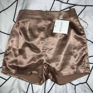 MESHKI SATIN SHORTS