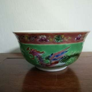 Nyonya Bowl Green Color