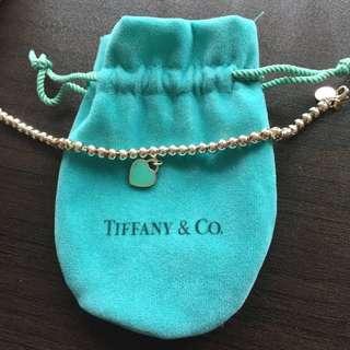 Tiffany and Co return to Tiffany bead bracelet 16.5cm