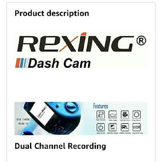rexing v1p dash cam ( upgraded version of  v1)