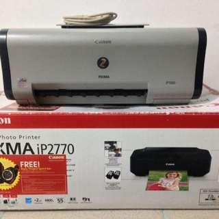 Canon Pixma IP1000 and IP2770