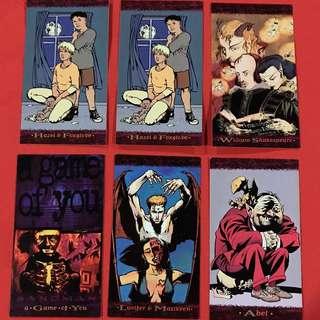 Sandman Trading Card Cards 1994 original VGC Set 2