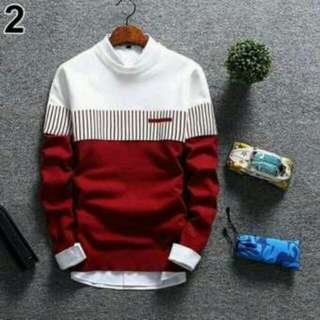 Sweater Rajut Pria - Rajut Tebal
