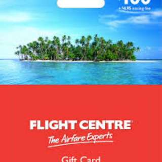 Flight Center Gift card