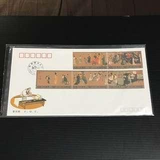 China Stamp - T158 首日封 FDC 中国邮票 1990