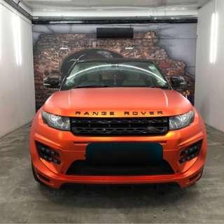 Range Rover Evoque Larte Design Bodykit