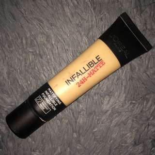 L'oreal Infallible 24hr-Matte