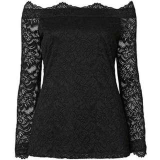 Witchery off the shoulder lace top