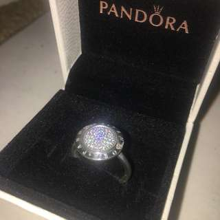 Pandora logo ring