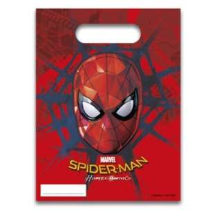 [PO] Spider-Man party bags (6x)
