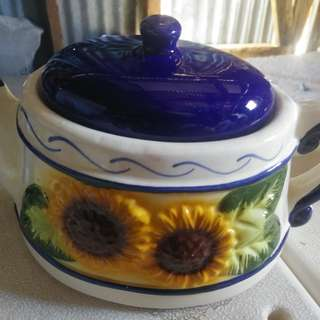 Two tea pots