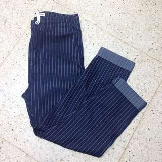 smyth pinstriped pants