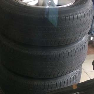 4 pcs 2014 ford ranger mags and tires