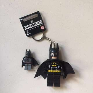 Batman and Superman Large Keychain