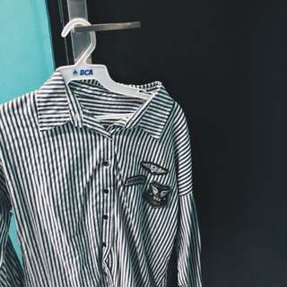 Patches Stripe Top