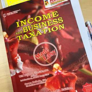 LOOKING FOR Income and Business Taxation Book by Ballada