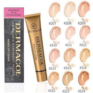 (Pre Order) Dermacol Make Up Cover
