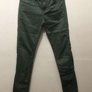 uniqlo green pants