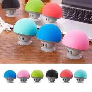 Mushrooms Bluetooth Speaker with Phone Stand