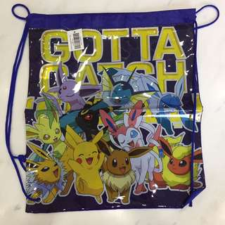 Pokemon draw string bag