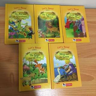 Robin Let's Read Level 1 (5 books)