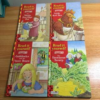 Ladybird Read It Yourself Level 1 (4 books)