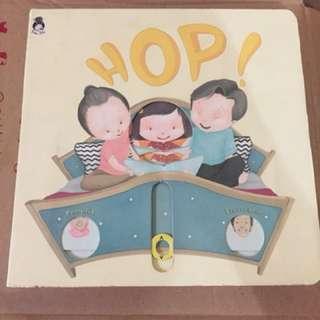 HOP (fitur Buku Tarik-dorong-geser) by Rabbitholeid