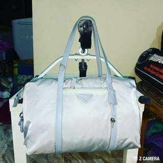 Shoulder/ Tote Bag Nylon Authentic Prada Milano