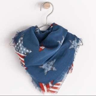 🆕 Zara star pattern scarf