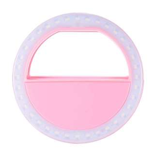 Search only in Phone Camera Flash Lights  Portable Fill-in Flash LED Selfie Ring Light for Smartphone (Pink)