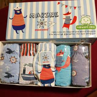 Undies for Boys Age 6-8 @$8 per box