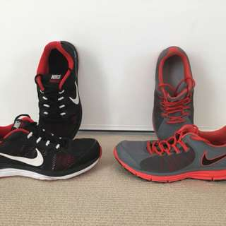 2 runners + 1 pair of havaianas thongs