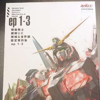 Gundam Unicorn 畫集
