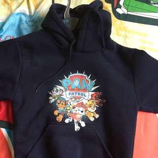 Paw Petrol Hooded Sweater For Boy 6-8yo