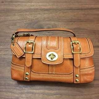 "Coach clutch/ handbag (4.5"" x 8.5"")"