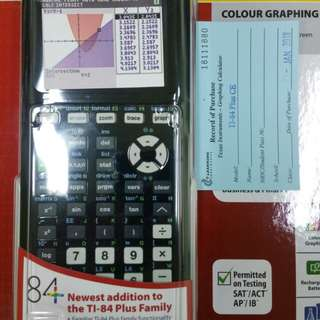 $170 brand new ti 84 with warranty card and manual                                                                            nanyang junior college bookshop 62844293