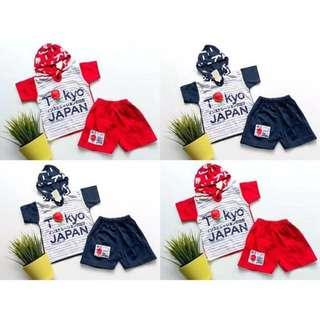 Tokyo japan set