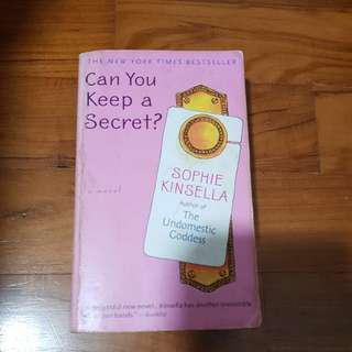 Can you keep a secrete? / sophie kinsella