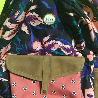 Roxy flower backpack